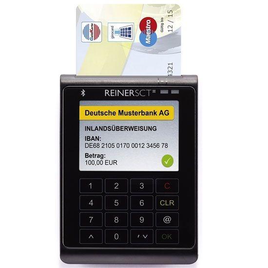 ReinerSCT cyberJack WAVE USB-Chipkartenleser mit TFT-Display + Bluetooth