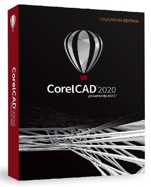 CorelCAD 2020 Education Schulversion/Academic Win/Mac, DVD-Box