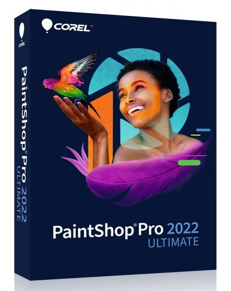 COREL PaintShop Pro 2022 Ultimate, Windows, Deutsch, #BOX