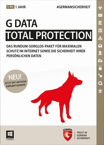 G Data TotalProtection, 1 PC, 1 Jahr, KEY