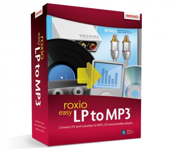 Roxio Easy LP to MP3 DEUTSCH, BOX