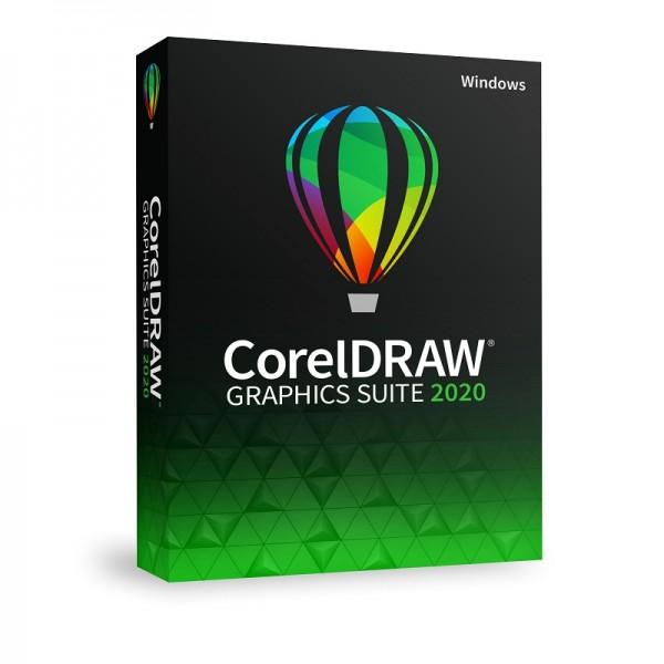 CorelDRAW Graphics Suite 2020 Vollversion Windows Deutsch DVD